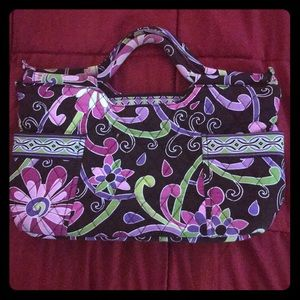 Vera Bradley zipper purse with size pockets